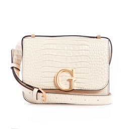 CARTERA GUESS CORILY CONVERTIBLE XBODY FLAP COLOR BEIGE