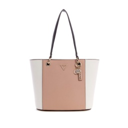 CARTERA GUESS NOELLE SMALL ELITE TOTE COLOR BEIGE