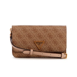 CARTERA GUESS NOELLE XBODY FLAP ORGANIZER COLOR LATTE