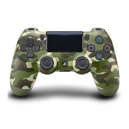 JOYSTICK PS4 ORIGINAL SONY GREEN CAMOUFLAGE