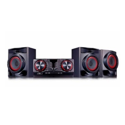 MINICOMPONENTE MULTI BLUETOOTH 720W LG XBOOM