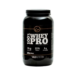 SUPLEMENTO GOLD NUTRITION WHEY PRO 2LB CHOCOLATE