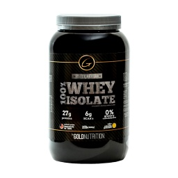 SUPLEMENTO GOLD NUTRITION WHEY ISOLATE 2LB CHOCOLATE